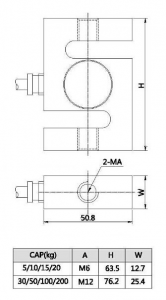 300g load cell