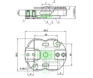 4 wire micro load cell
