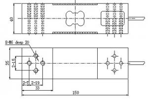 Aluminum Load Cell Sensor