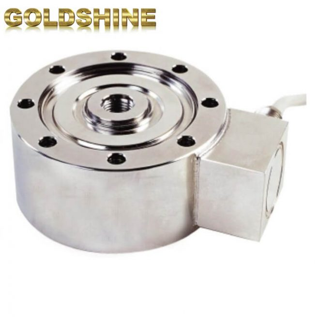 Compression load disc load cell