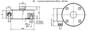 Diaphragm Box Weighing Force Sensor
