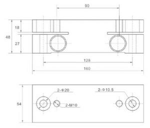 Elevator spare parts monitor sensor