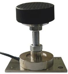 Elevator weight measuring sensor overload cell
