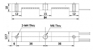 Parallel Beam Aluminum Sensors