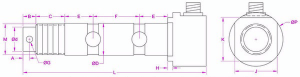 Shaft Pin Load Cell