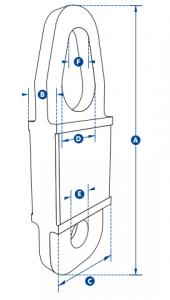 Tow bar vertical load limit sensor
