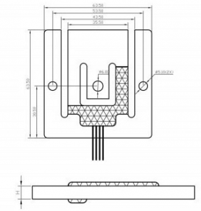 bench scale weight sensor