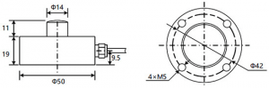 button load cell 200kg