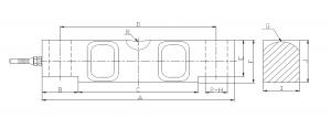 digital compression load cell