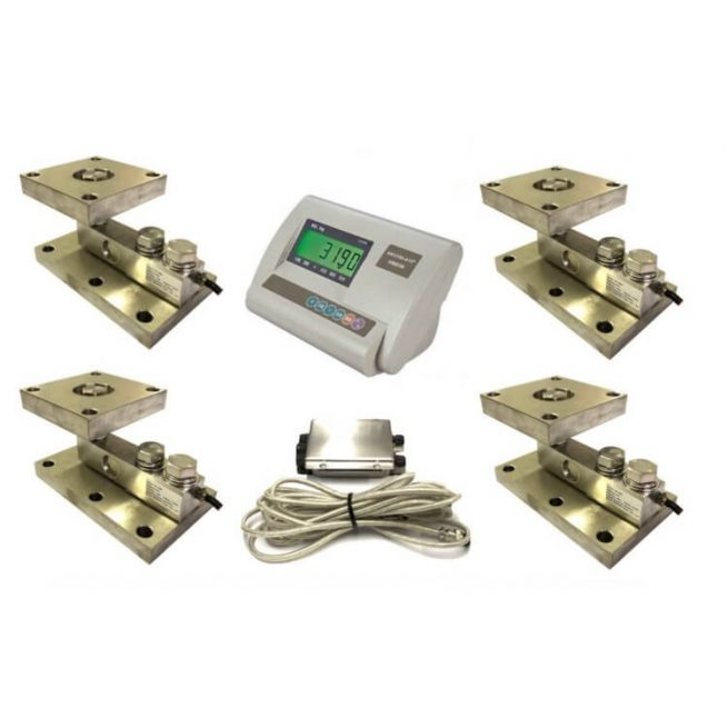 electronic floor scale industry 2000kg load cell