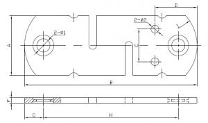 electronic scale strain gauge sensor