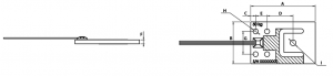 full bridge micro planar load cell