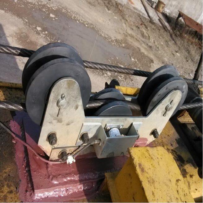 load cell elevator parts rope sensor overload