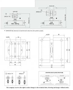 load cell sensor 10 ton 30 ton