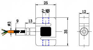 low cost load cell 300kg