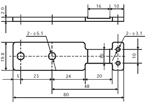 low cost thin load cell