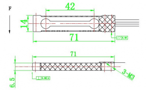 parallel beam load cell for bench scale