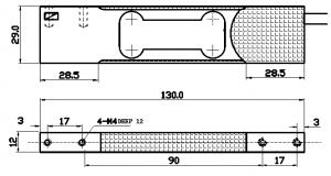 single point aluminum load cells