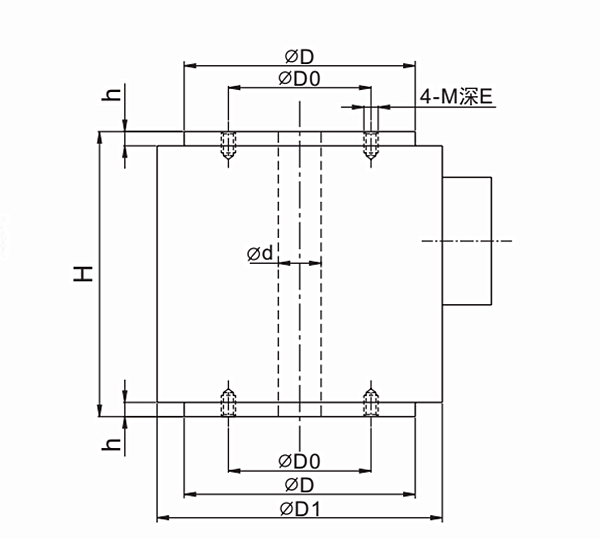 Compression Load Cell Column type