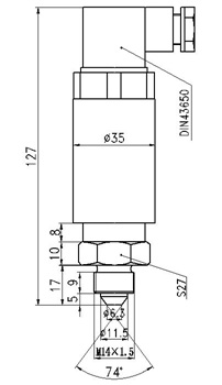 Explosion Proof Pressure Transducer