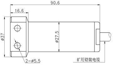 Flat metal diaphragm for pressure sensor