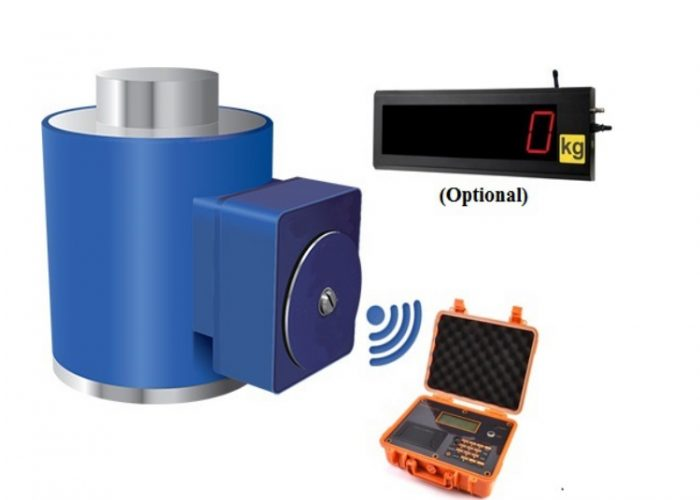 Wireless column Load Cell with Wireless