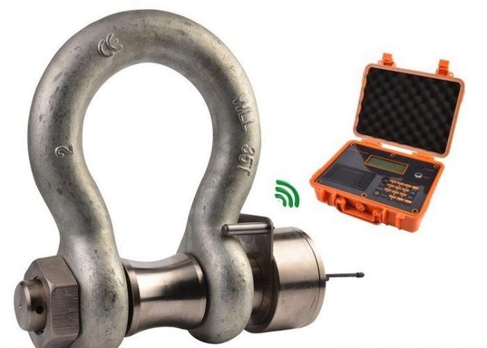 load measuring shackle crosby load cell