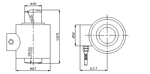 Robust Rocker-Pin Load Cell