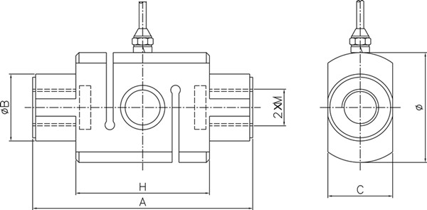 S Column Load Cell