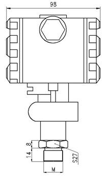 Safe Pressure Transmitter