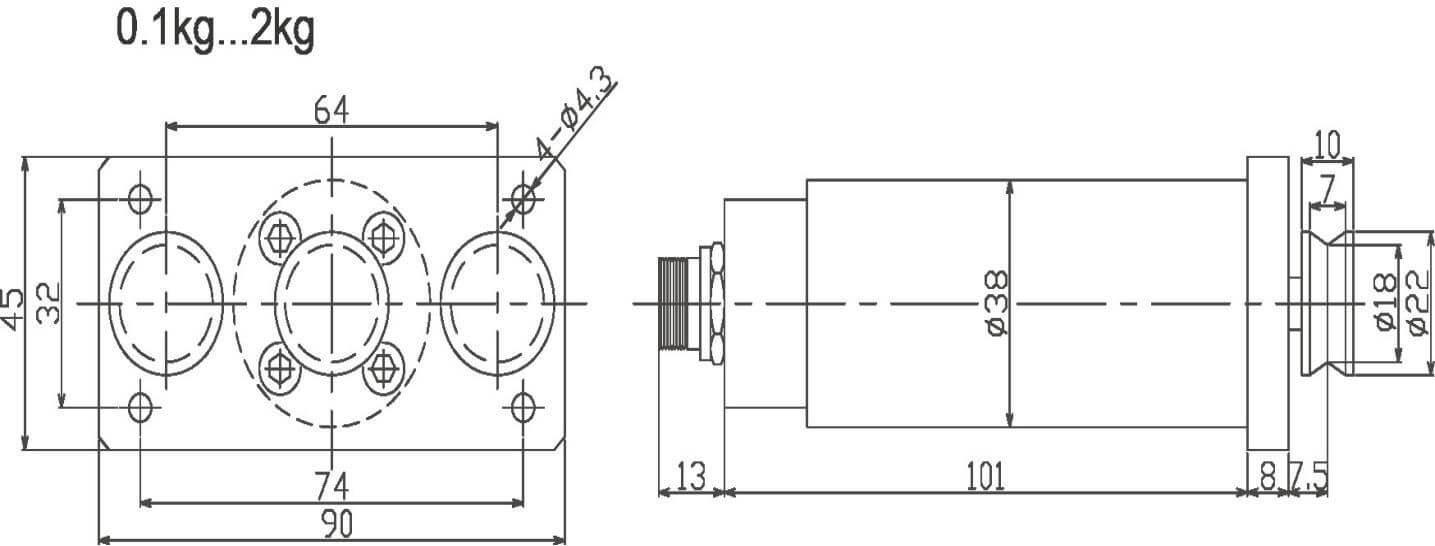 Sensor for Distance Tension
