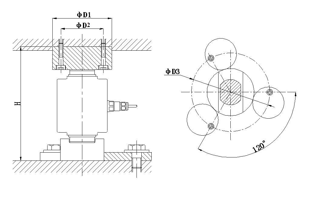Steering Column Load cell