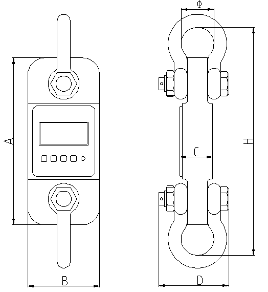 Tank Mount Load Cells