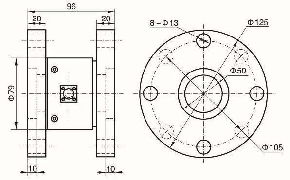 Torque Load Cell for valve torsion