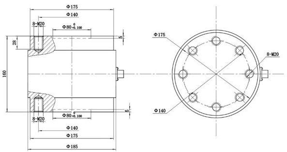Triple Axis Force Sensor