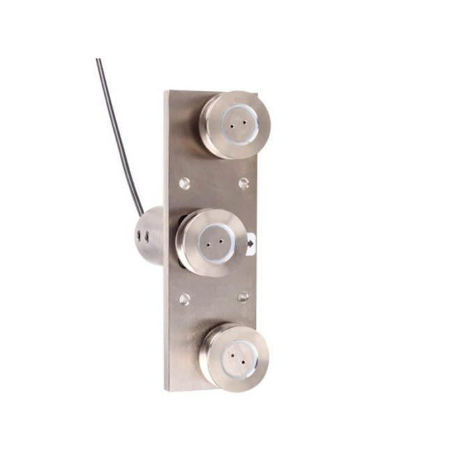 three pulley rope tension sensor