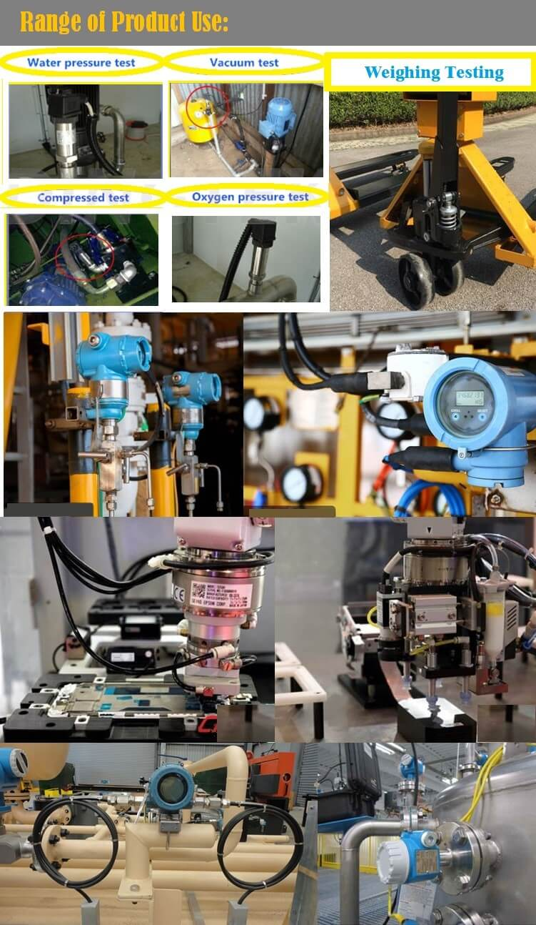 Water Oil Air Pressure Transducer