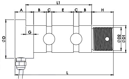 Wireless Tension Link Scale