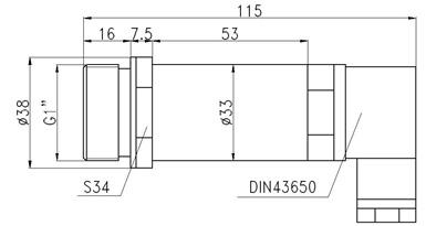 air ceramic pressure sensor