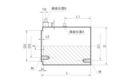 column weighing sensor load cell