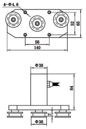 compact tension sensing device