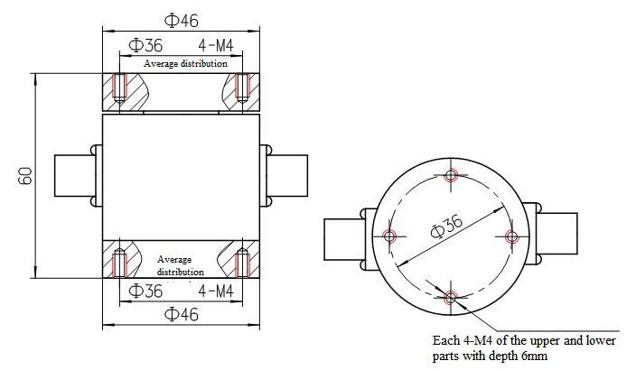 four-axis sensor