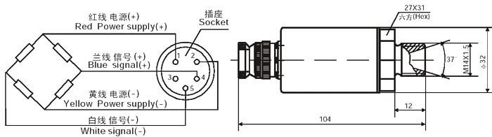 pressure sensor load cell
