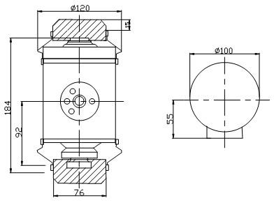 sensor for railway scale