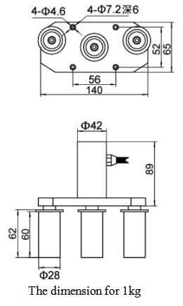 steel wire rope pull sensor