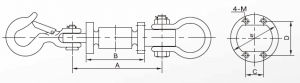 two-way bearing loadcell
